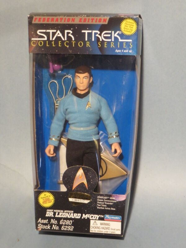 Star Trek 1995 Dr Leonard McCoy Collectors Series Federation Edition New In Box