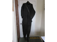 Ex-Military Imersion Suit, black with Integral Socks (New size 10)