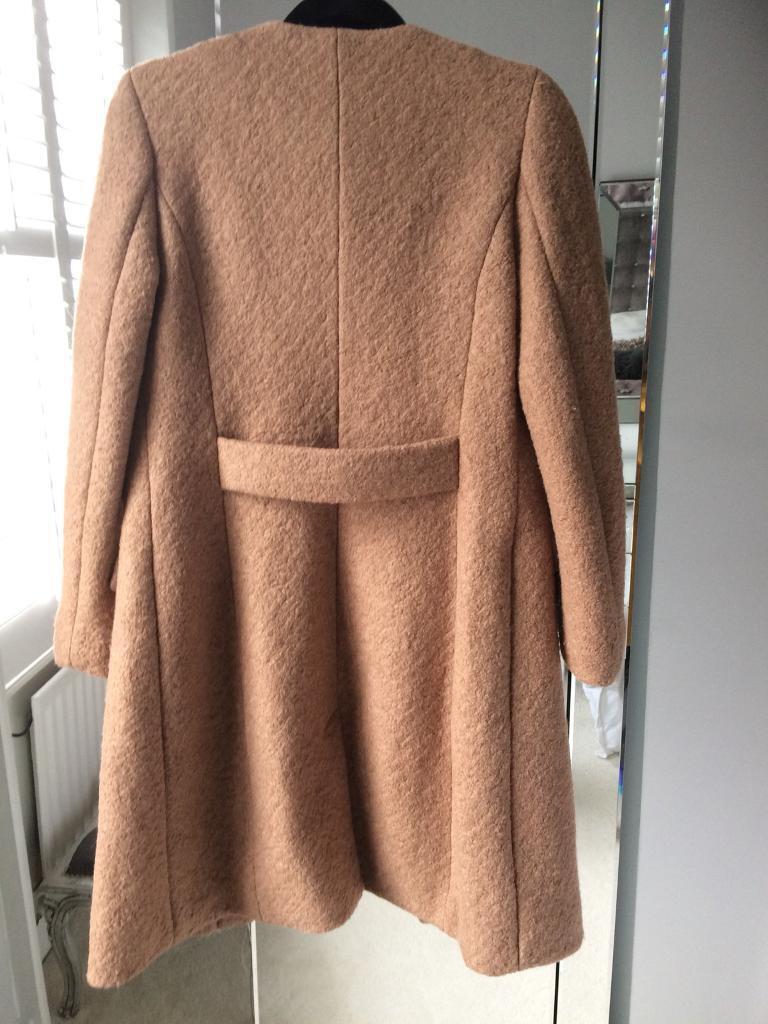 Next Beige Ladies Coat