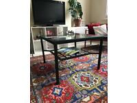 Glass Coffee Table & Lamp table