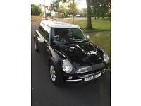 2003 Mini Cooper 1.5 Hatchback 3d Black White Manual Parrot Bluetooth Petrol