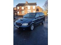 2006 kia Sedona 2.9 cdti automatic 7 seater, low miles 78k with history, full 12 months mot