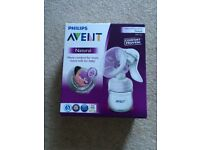 Philips Avent Manual Breast Pump, never opened still sealed