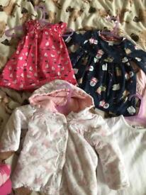 Baby girl 0-3 months clothing