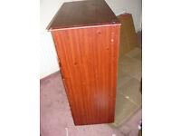 Chest of drawers, dark wood