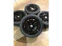 """Brand new set of 18"""" alloy wheels and tyres Ford transit custom"""