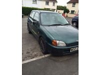 £250 Ono Toyota starlet want it gone asap