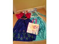 Frozen Dresses and gift set