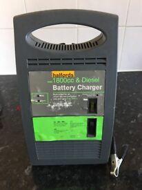 Halfords Car Battery Charger - 12V