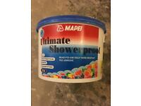 Mapei ultimate shower proof adhesive