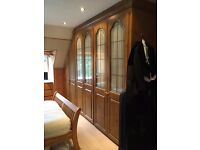 Fitted wardrobes and bed side cabinets. 6 bays of wardrobe. £4300 when bought. Great condition