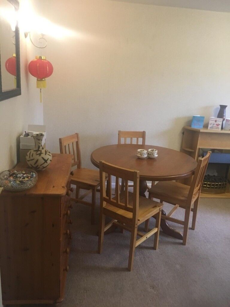 Dining Table 4 Chairs York North Yorkshire