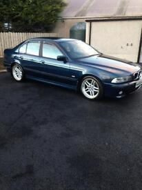 BMW e39 530d Aegean blue edition