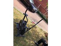 Body train excercise bike & elliptical in 1