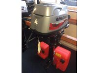 Mariner 4hp Outboard Boat Engine
