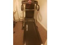 Maxima pro fitness treadmill with extra crosstrainer/ bike