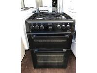 black beko 60cm gas cooker excellent condition