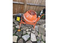 Cement mixer (electric) for sale