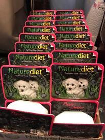 Nature diet puppy junior wet food