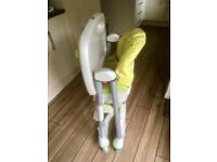 Prima pappa highchair in green