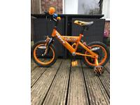 "Huffy Inferno Kids Bike 14"" Wheels"