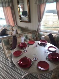 6 berth excellent condition caravan. Stranraer. Beautiful park well maintained. Seaside location.