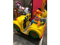 Sesame Street coin operated Children's ride