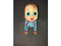 Baby WOW crawling Charlie doll