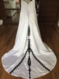 Designer wedding dress size 18