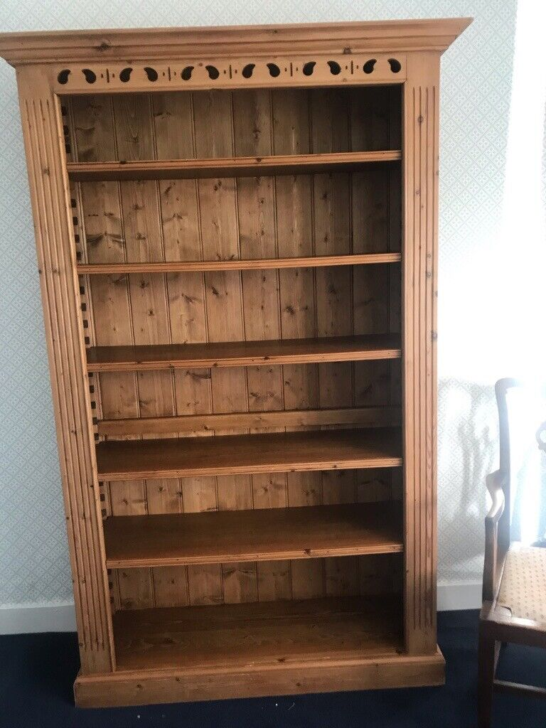 Bookcase Large Solid Wood In Bridge Of Allan Stirling Gumtree
