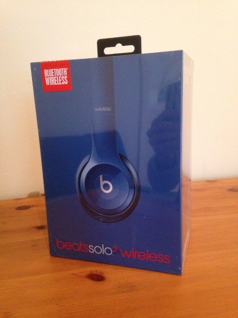 Casque Beats Solo 2 Bluetooth Wireless - Blue