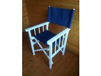 2 x 'Director' Style Folding Chairs