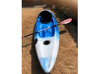 PERCEPTION SCOOTER KAYAK. With Paddle and seat