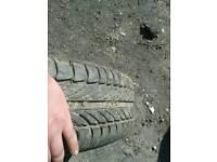 VAUXHALL 5 STUD good tyre