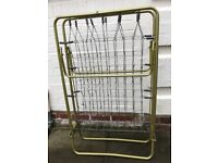 Fold Up Sprung Metal Guest Bed