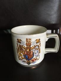 Commemorative mug £5