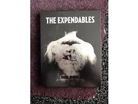The Expendables Blu Ray Bluray STEELBOOK