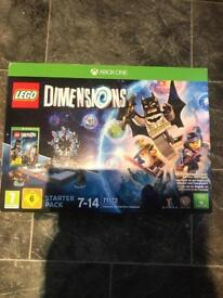 Lego dimensions Xbox 1 one starter pack