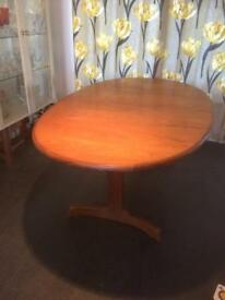 G Plan- oval extendable dining table - FREE TO COLLECTOR