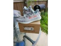 100% Authentic Yeezy Boost 350 V2 Blue Tint