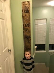 Handcrafted Growth Ruler