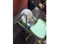 Adjustable highchair from Prima Pappa