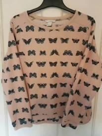 Butterfly jumper medium