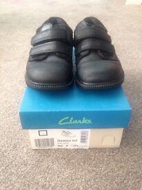 Clarks boys school shoes
