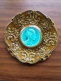Victorian Majolica plate