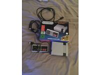 Nintendo classic mini with 30 games built in