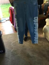 Ladies jeans bnwt size 12/14