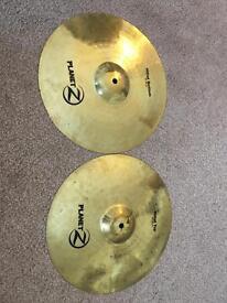 Zildjian/Meinl drum cymbals - Prices in description