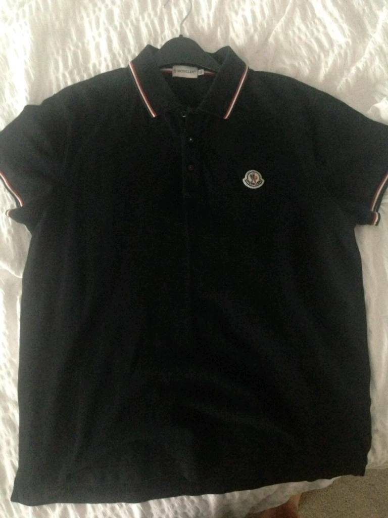 0b9e730c704d Men s genuine moncler t-shirt black