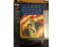 Harry Potter And The Half Blood Prince Book First Edition JK Rowling Bloomsbury